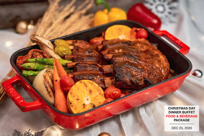 Christmas Day Dinner Buffet (Food & Beverage Package)