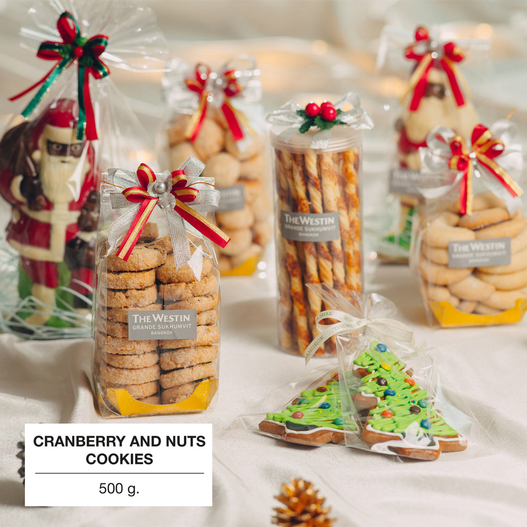 Cranberry and Nuts Cookies 350 G.