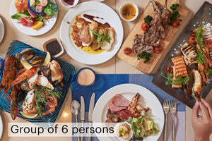 Family-Filled Sunday Lunch 50% off for group of 6 persons