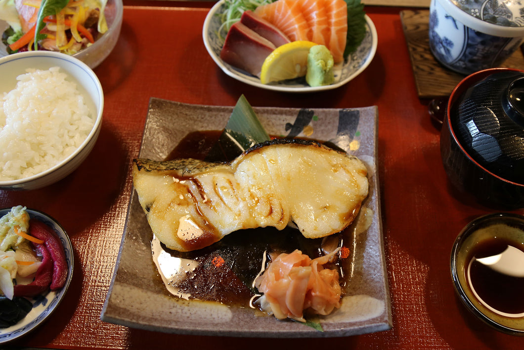 Grilled Snow Fish with Teriyaki Sauce 15% off