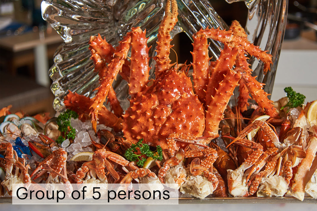 Seafood & Grill Dinner Buffet 50% off for group of 5 persons