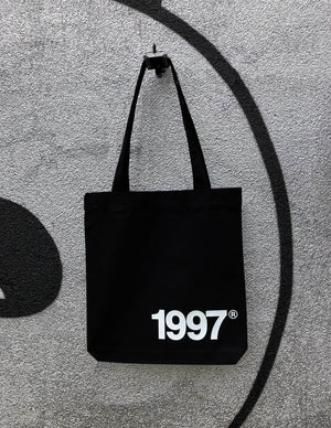 """Significant Year"" Tote Bag (White Font) - Harrow and Green"