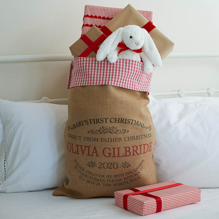 Baby's First Christmas Sack - Harrow and Green