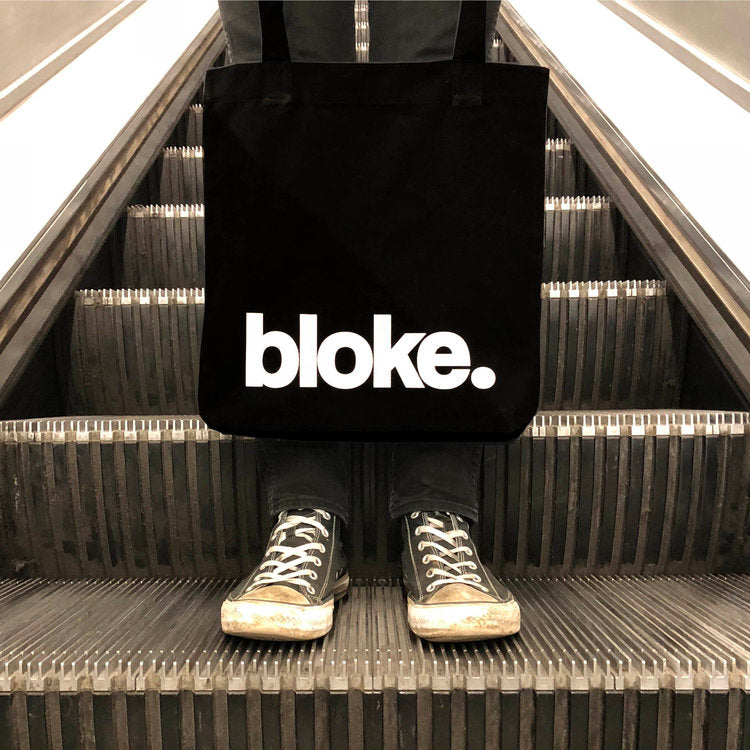 """Bloke"" Tote Bag - Harrow and Green"