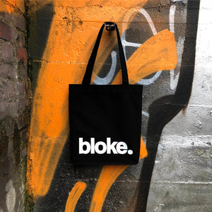 "Load image into Gallery viewer, ""Bloke"" Tote Bag - Harrow and Green"