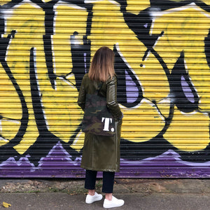 Personalised Camouflage Tote Bag - Harrow and Green