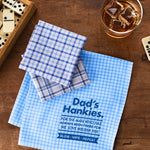 Best Dad Personalised Message Handkerchiefs - Harrow and Green