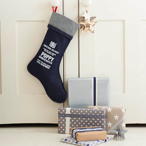 Personalised Denim Christmas Stocking - Harrow and Green