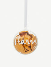 Load image into Gallery viewer, Personalized for You - Chocolate Treat Tree Ornament / Bauble - HarrowandGreen