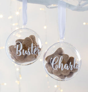 Personalized for You - Pet Tree Ornament / Bauble - HarrowandGreen