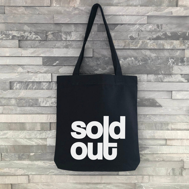 """Sold Out"" Tote Bag - Harrow and Green"