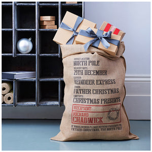 Sandhurst Christmas Sack - Harrow and Green