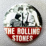 2.25 inch The Rolling Stones Group Photo button badge pin