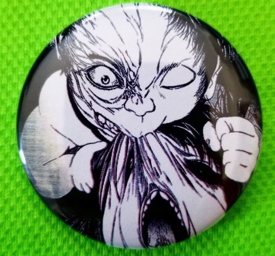 2.25 inch Baby Cannibal button badge pin