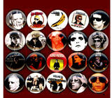 Lou Reed Velvet underground button badge pin set of 20