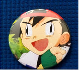 2.25 inch dumb Ash button badge pin