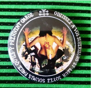2.25 inch Wiccan witchcraft spell button badge pin