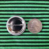 1.25 inch Optical Illusion set of 3 pins