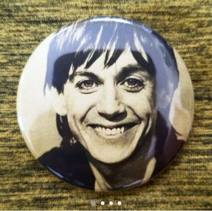 2.25 inch Lust For Life button badge pin