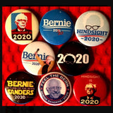 1 inch bernie 2020 set of 8 buttons badge pins