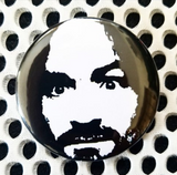 2.25 inch Charles Manson #2 button badge pin