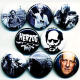 1 inch Werner herzog set of 8 buttons badge pins