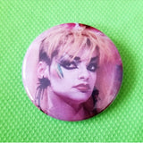2.25 inch Nina Hagen button badge pin