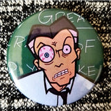 2.25 inch teacher daria button badge pin