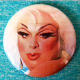 2.25 inch divine button badge pin