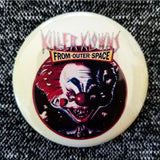 2.25 inch killer klowns button badge pin