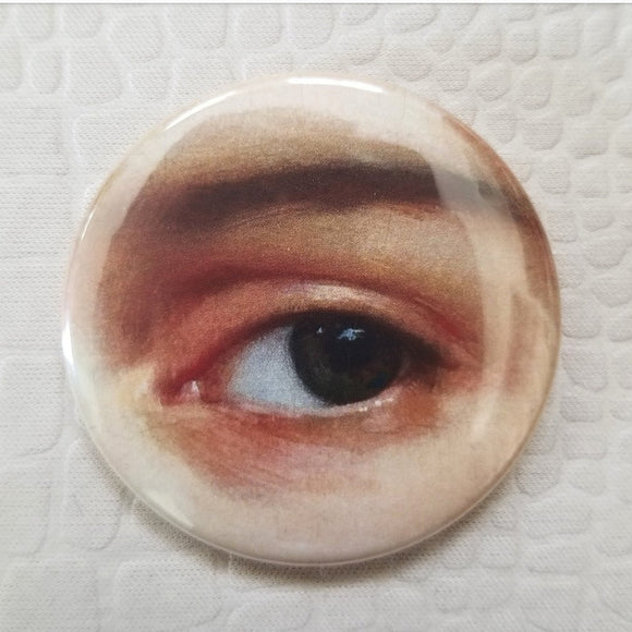 2.25 inch classic eye painting button badge pin