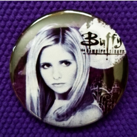 2.25 inch buffy button badge pin