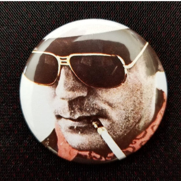 2.25 inch hunter s Thompson button badge pin