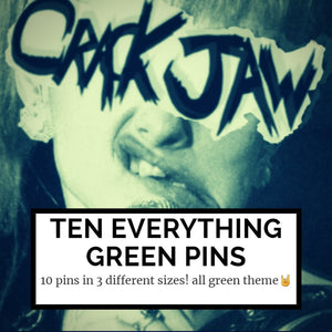 10 everything green mystery pins