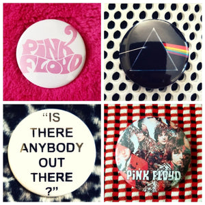 Pink floyd set of 4 new buttons pin badges
