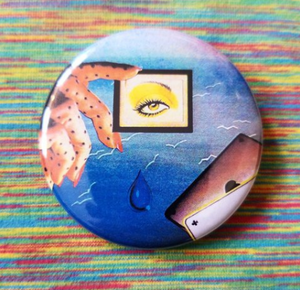 2.25 inch Fever Dream button badge pin