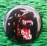 2.25 inch Attack Dog button badge pin