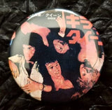 2.25 inch Queen Sheer Heart Attack button badge pin