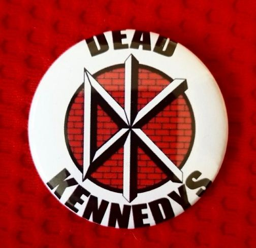 2.25 inch Dead Kennedys button badge pin