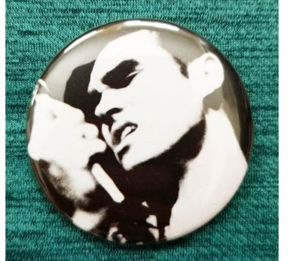 2.25 inch Morrissey button badge pin