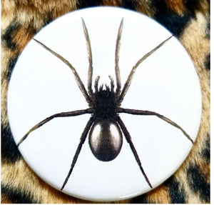 2.25 inch Spider button badge pin