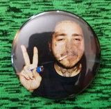 2.25 inch Post Malone button badge pin