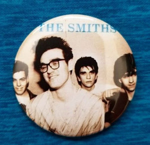 2.25 inch The Smiths button badge pin