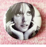 2.25 inch Shelley Duvall button badge pin