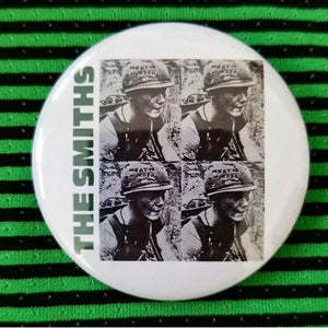 The Smiths button badge pin