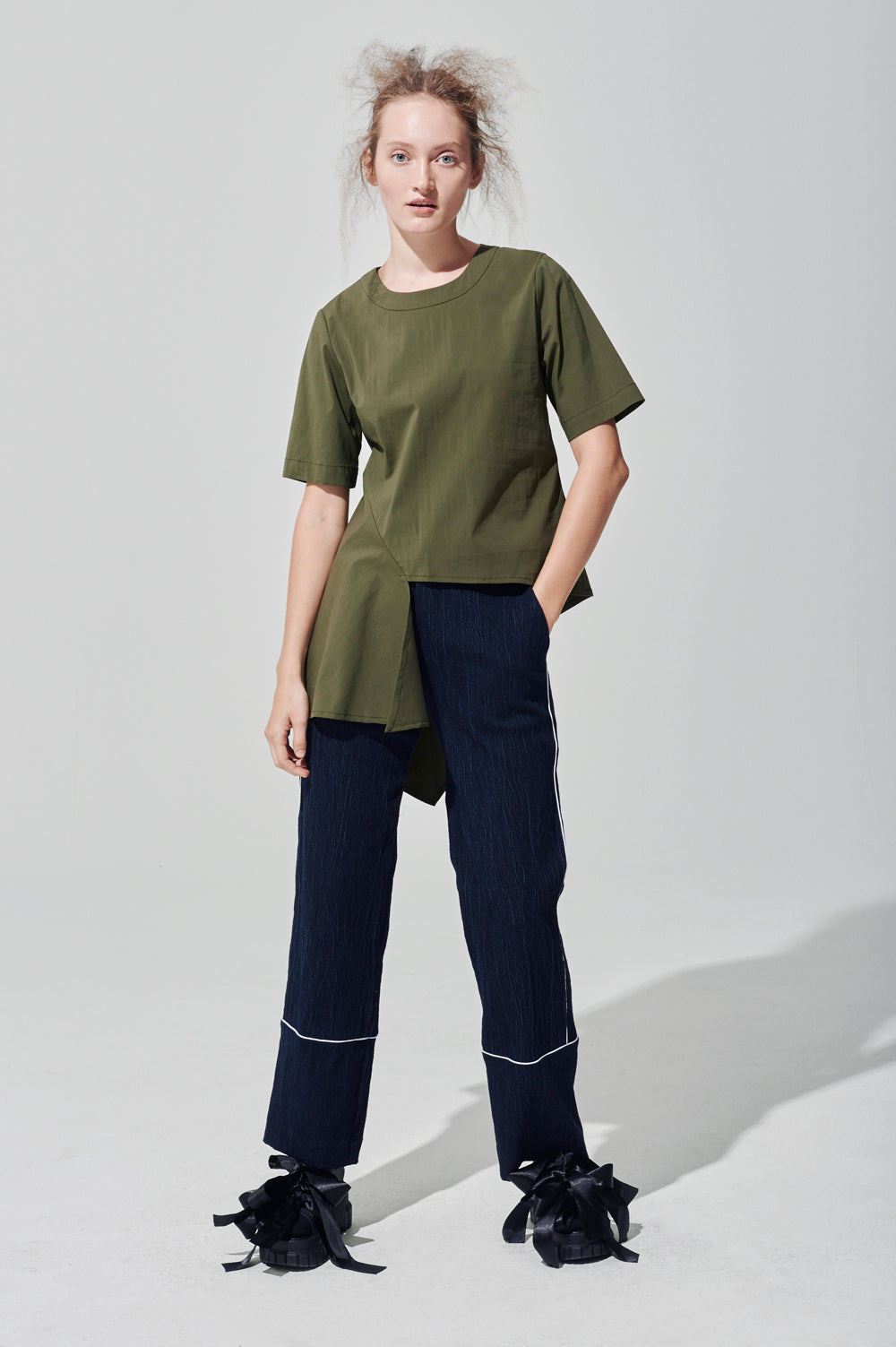 Naomi Asymmetrical Top