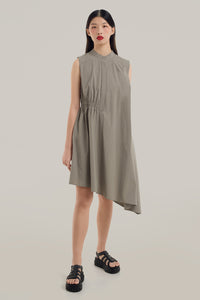 Brooke Asymmetrical Shirt Dress