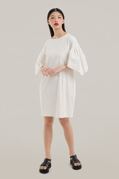 Frida Puff Sleeves Dress