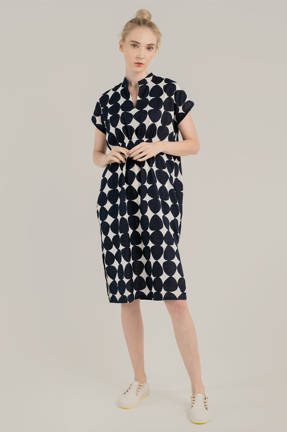 Genesis Polka Shirt Dress