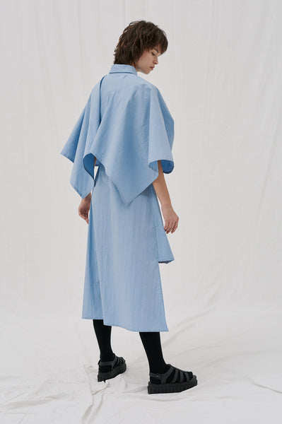 Jupiter Cape Shirt Dress